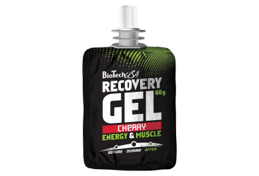 Gel de récupération BioTechUSA Recovery Gel 60g Cerise