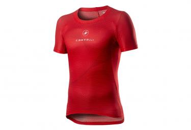 Camiseta Castelli Pro Mesh Manga Corta Manga Corta Rojo Xl
