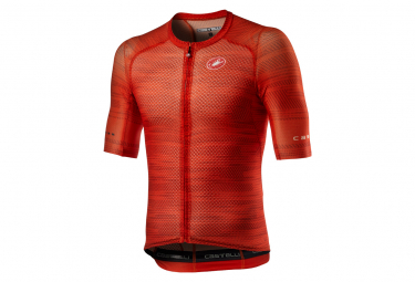 Maillot Manches Courtes Castelli Climber'S 3.0 SL Rouge