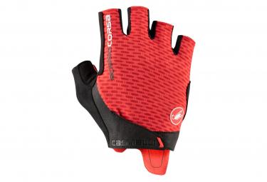 Castelli Rosso Corsa Pro V Handschuhe Rot