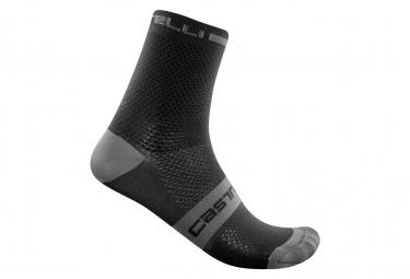 Paar Castelli Superleggera T 12 Socken Schwarz