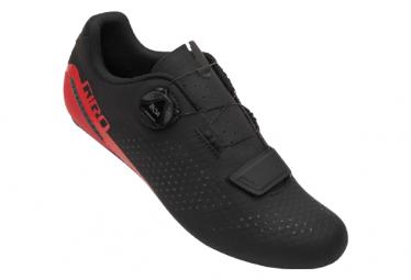 Zapatillas Carretera Giro Cadet Negro   Rojo 40