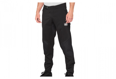 Pantaloni neri idromatici al 100%