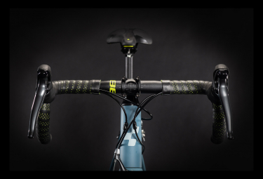 Bicicleta de carrera mujer Cube Axial WS Shimano Claris 8S 700 mm Azul 2021