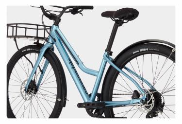 Vélo de Ville Fitness Cannondale Treadwell EQ Remixted Shimano Altus 9V Bleu 2021