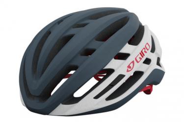Giro Agilis Helm Grau / Weiß / Rot