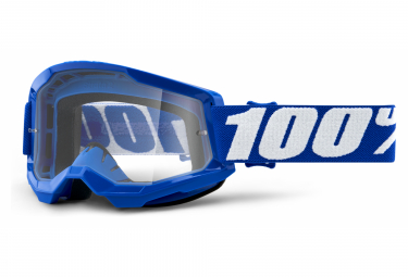 100% STRATA Maske 2 | Gelb | Klare Brille