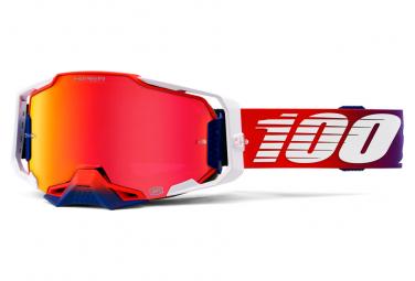 100% Armega Goggle Hiper Red Lens
