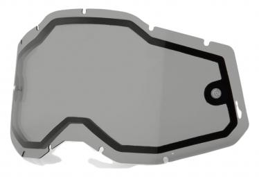 Ecran de remplacement 100% Racecraft2/Accuri2/Strata2 | Vented Dual Pane Smoke
