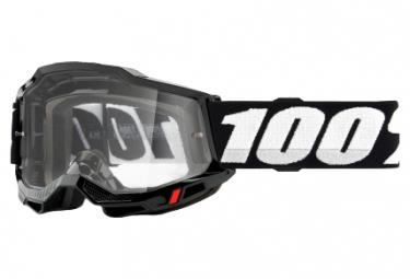 100% ACCURI 2 OTG Maske | Schwarz | Klare Brille