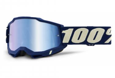 100% ACCURI Maske 2 | Deepmarine Navy Blue | Blaue Spiegelgläser