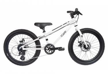 SCAMP Tallfox 20 'Shimano 8V Childrens Bike White
