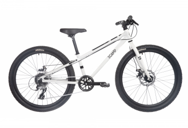 SCAMP Highfox 24 '' Shimano 8V Childrens Bike White