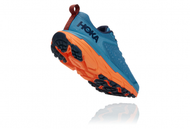 Chaussures de Trail Hoka One One Challenger ATR 6 Bleu / Orange