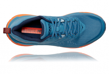 Chaussures de Trail Hoka One One Challenger ATR 6 Bleu / Orange