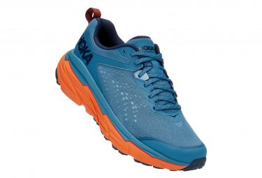 Zapatillas Hoka Challenger Atr 6 Trail Azul   Naranja 47 1 3