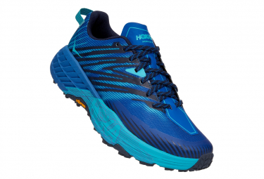 Chaussures de Trail Hoka One One SpeedGoat 4 Bleu / Bleu