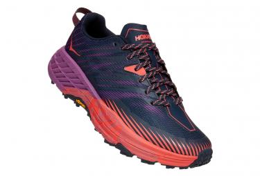 Zapatillas Hoka One One SpeedGoat 4 para Mujer Púrpura / Rosa