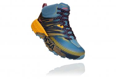 Zapatillas Hoka One One Speedgoat Mid 2 GTX para Mujer Azul / Amarillo