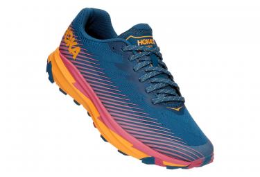 Zapatillas Trail Mujer Hoka Torrent 2 Azul   Naranja 40 2 3