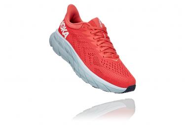 Zapatillas Hoka One One Clifton 7 para Mujer Rojo / Blanco