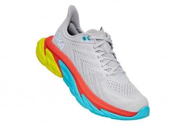 Chaussures de Running Hoka One One Clifton Edge Blanc / Orange