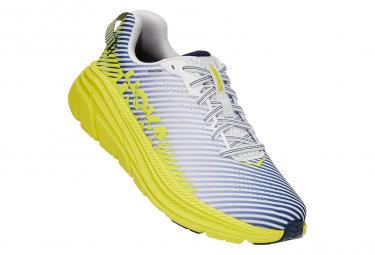 Hoka Rincon 2 Clean Energy Running Shoes White Yellow