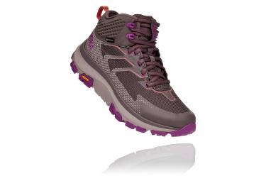 Zapatos De Senderismo Mujer Hoka Toa Gtx Morado 37 1 3