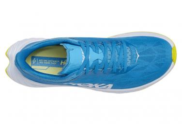 Chaussures de Running Hoka One One Carbon X 2 Bleu / Jaune