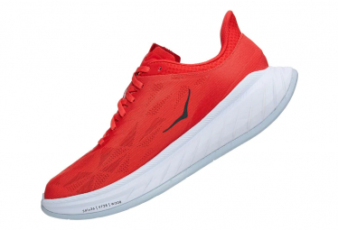 Chaussures de Running Hoka One One Carbon X 2 Rouge