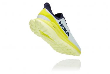 Chaussures de Running Hoka One One Mach 4 Bleu / Jaune