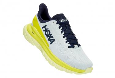 Scarpe da corsa blu / gialle Hoka Mach 4 Clean Energy