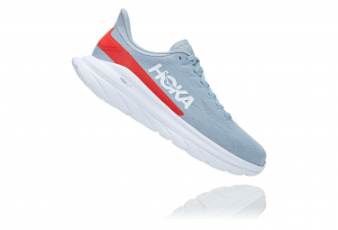 Chaussures de Running Hoka One One Mach 4 Bleu / Rouge