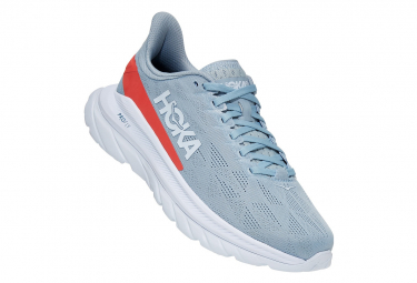 Hoka Mach 4 Blue / Red Running Shoes