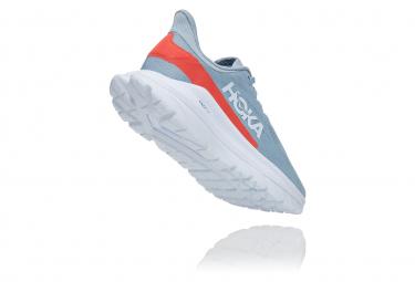 Chaussures de Running Femme Hoka One One Mach 4 Bleu / Rouge