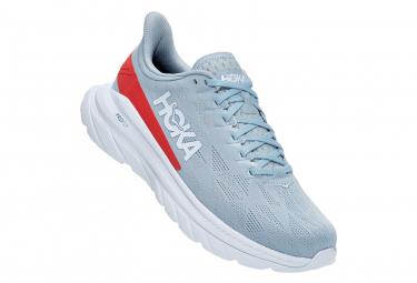 Zapatillas De Running De Mujer Hoka Mach 4 Hot Coral Blue Red 42 2 3