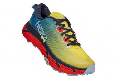 Scarpe da trail Hoka Mafate Speed 3 Blu / Gialle / Rosse