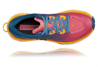 Chaussures de Trail Femme Hoka One One Mafate Speed 3 Rose / Bleu / Rose