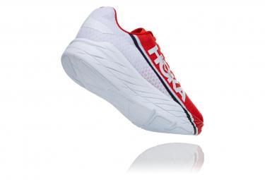 Chaussures de Running Hoka One One Rocket X Fiesta Rouge / Blanc