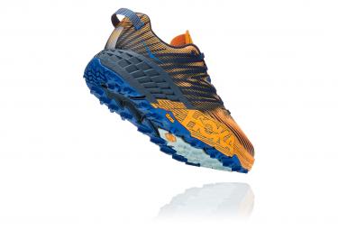 Chaussures de Trail Hoka One One SpeedGoat 4 Jaune / Noir