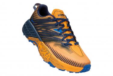 Scarpe Hoka Speedgoat 4 Trail Gialle / Nere