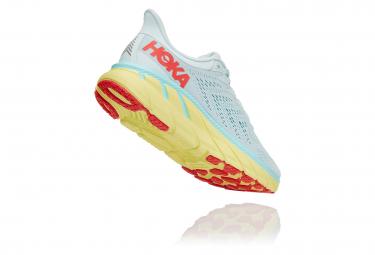 Chaussures de Running Femme Hoka One One Clifton 7 Bleu / Jaune