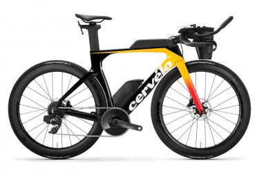 Bicicleta triatlon cervelo p se disc sram etap axs 12v negro   amarillo 51 cm   165 170 cm