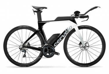 Bicicleta Triatlón Cervélo P-SE Disc Shimano Ultegra R8000 11V Negro / Blanco 2020