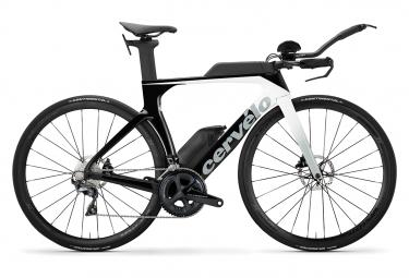 Vélo de Triathlon Cervelo P-SE Shimano Ultegra 11V 2020 Blanc / Noir