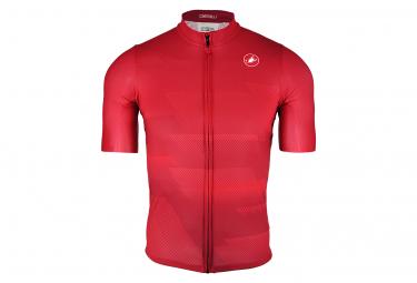 Castelli Squadra Kurzarm Jersey Red Limited Edition
