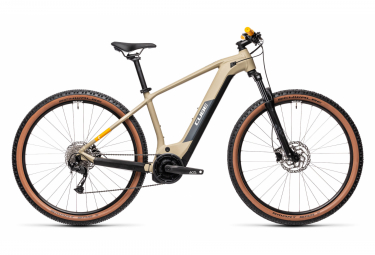 Cube Reaction Hybrid Performance 625 MTB elettrica Hardtail Shimano Alivio 9S 625 Wh 29'' Desert Beige 2021