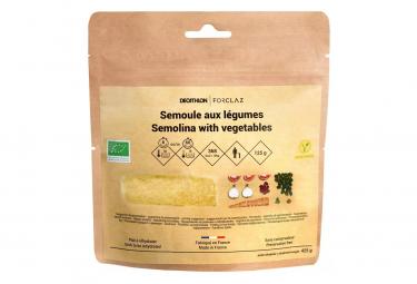 Repas Lyophilisé Forclaz Trekking Semoule Légume Bio 125 G