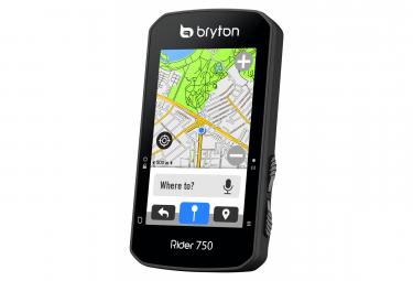 BRYTON Compteur GPS Rider 750T + Ceinture Cardio/Capteur Cadence/Capteur Vitesse