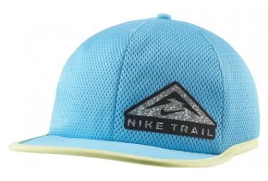 Casquette Nike Dri-Fit Pro Trail Bleu
